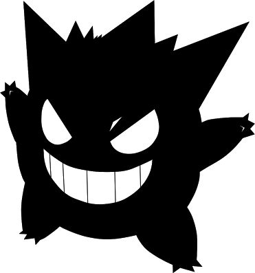 Pokemon clipart silhouette. At getdrawings com free