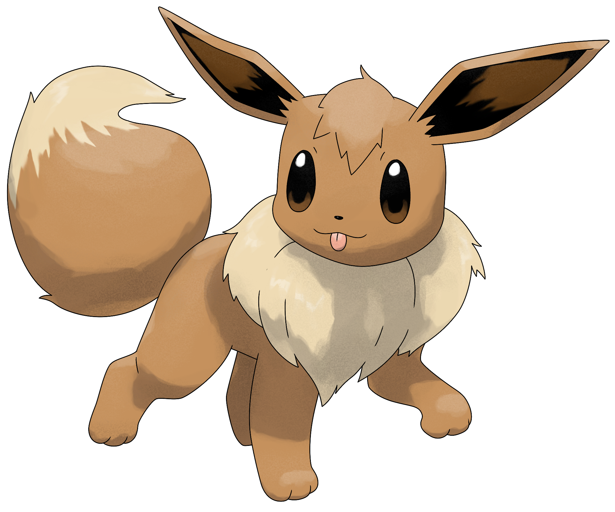 Pokemon eevee png. Y by smiley fakemon