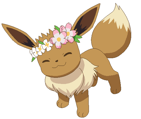 Pokemon eevee png. Base petition to give