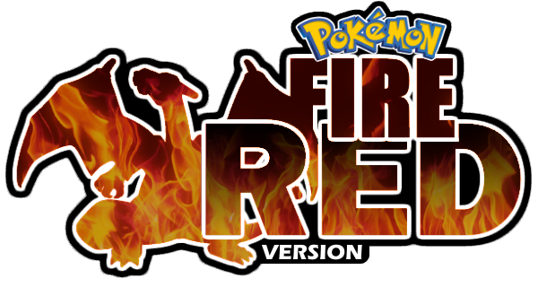 pokemon fire red logo png