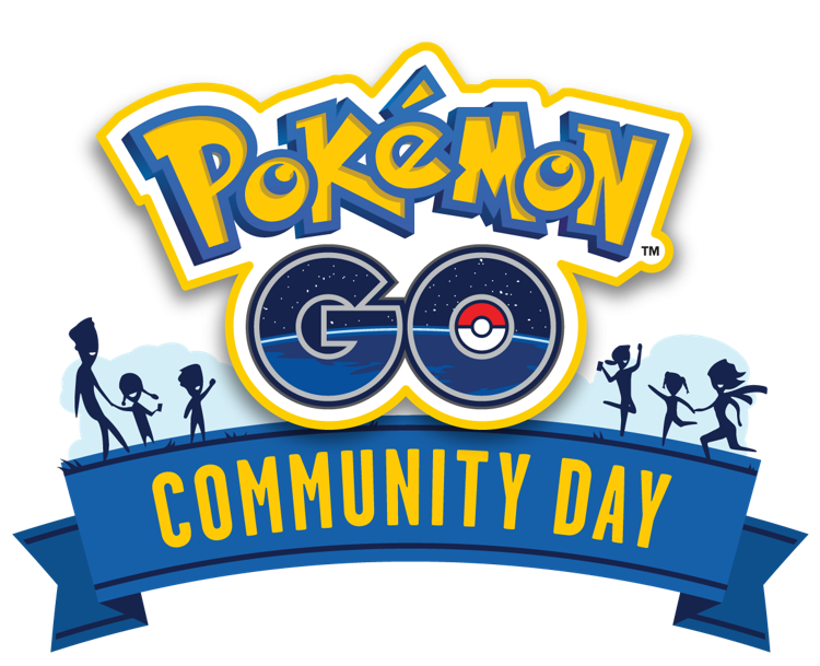 Pokemon go logo png. Community day general events