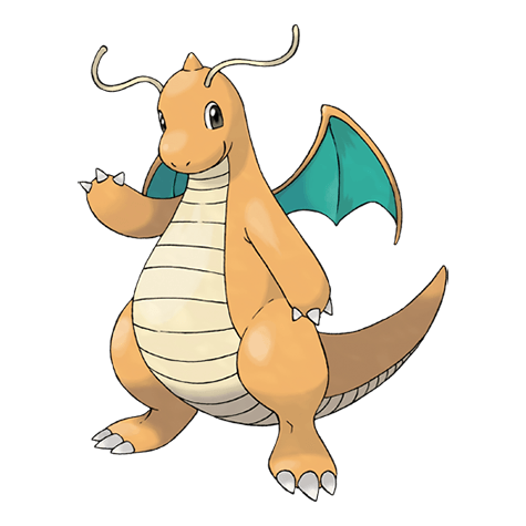 Pokemon go sprites png dragonite. Stats moves counters cp