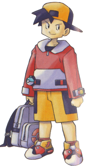 Pokemon gold png. Silver ethan from the
