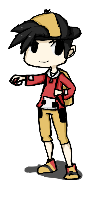 Pokemon gold png. Trainer by abbic on