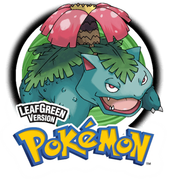 pokemon leaf green png