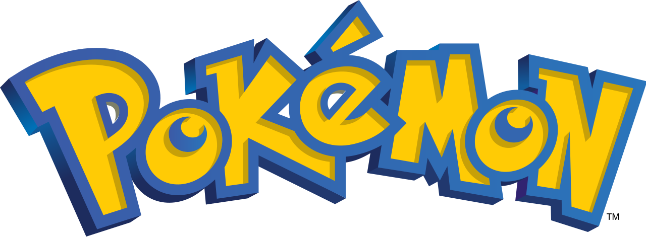 Pokemon logo png. File international pok mon