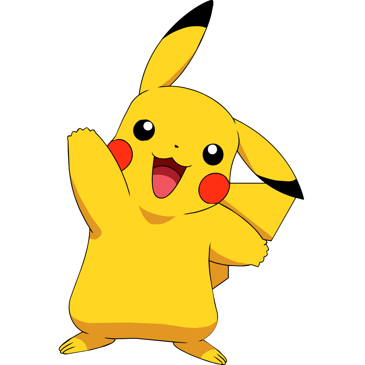 Lightning svg pikachu. Transparent background png mart