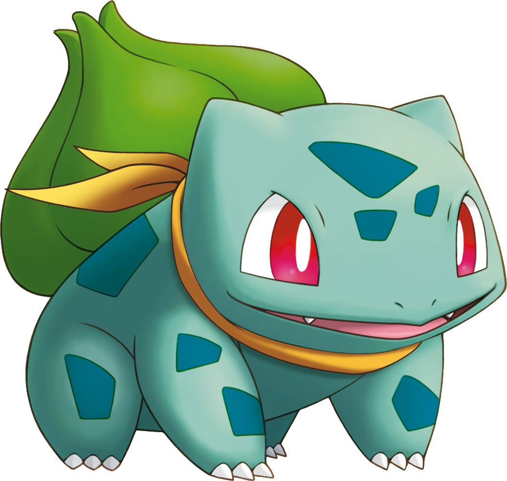 bulbasaur vector background pokemon
