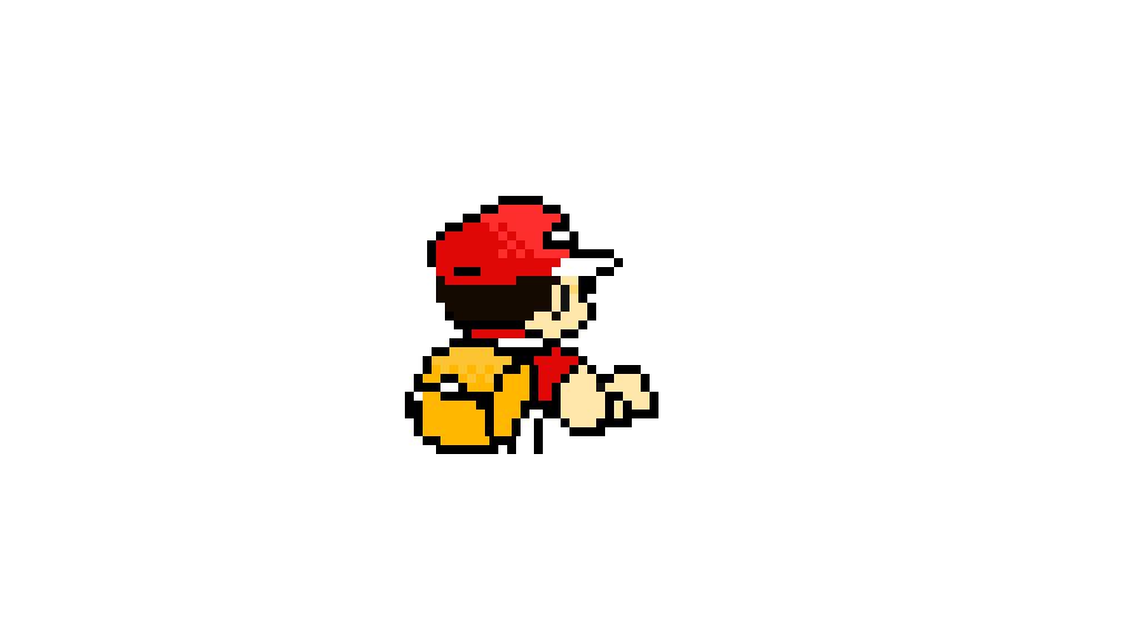 Pokemon red sprite png. Pixel art alola battle