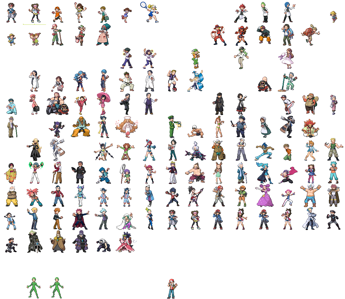 Pokemon sprite trainer png. Sprites and such narwhal