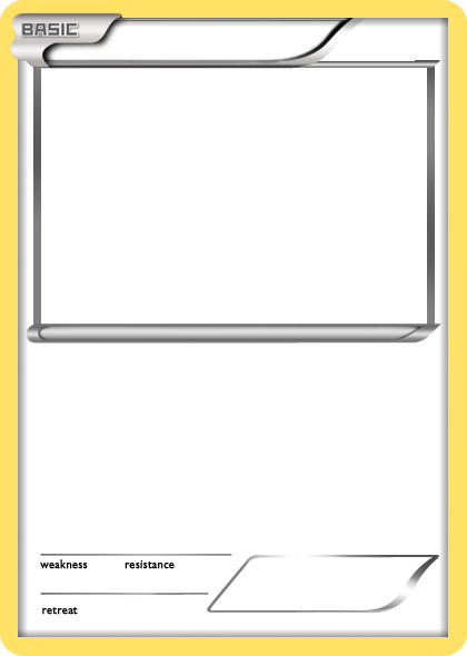 Pokemon card template png. Blank classroom pinterest pok