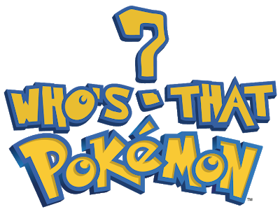 Pokemon title png. Who s that computing