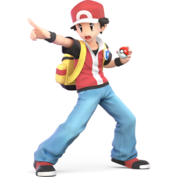 Pokemon trainer red png. Game bulbapedia the community