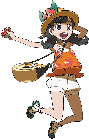 Pokemon trainer sprite png. Moon game bulbapedia the