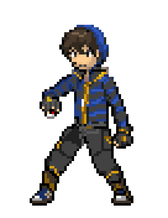 pokemon sprite trainer png