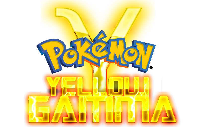 Pokemon yellow logo png. Image gamma title y