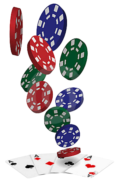 poker drawing chips