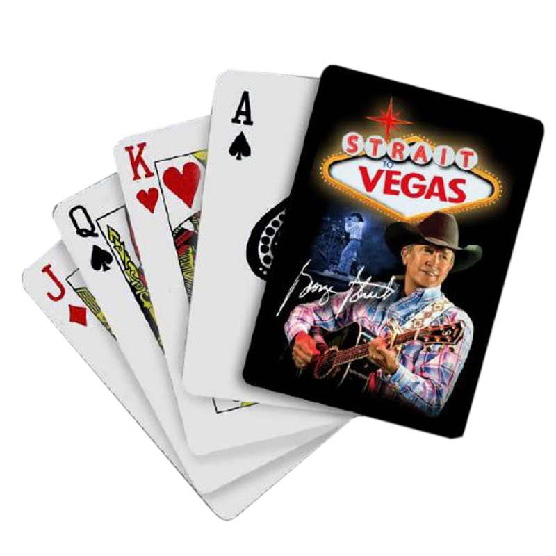 Poker cards animation png. George strait playing
