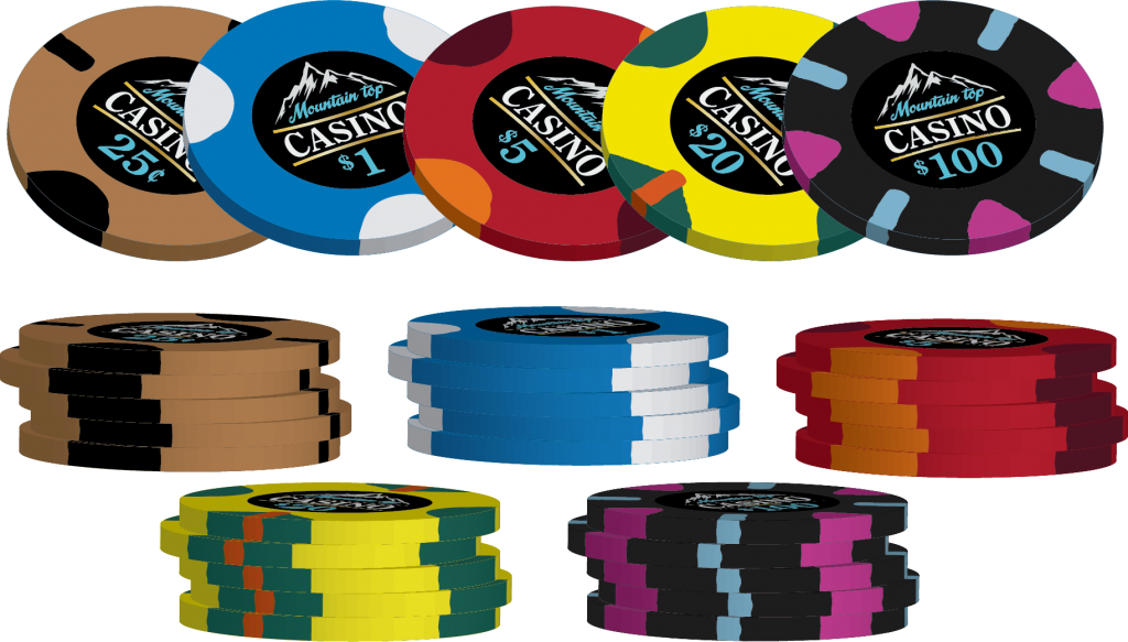Poker chips stack png. Sun fly mountain top