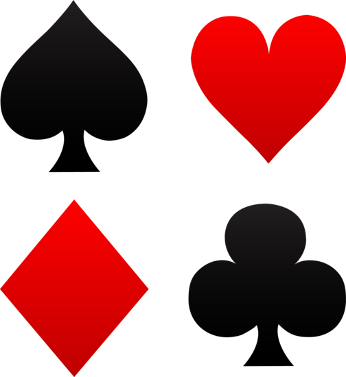 Poker clipart deck card. Free clip art of
