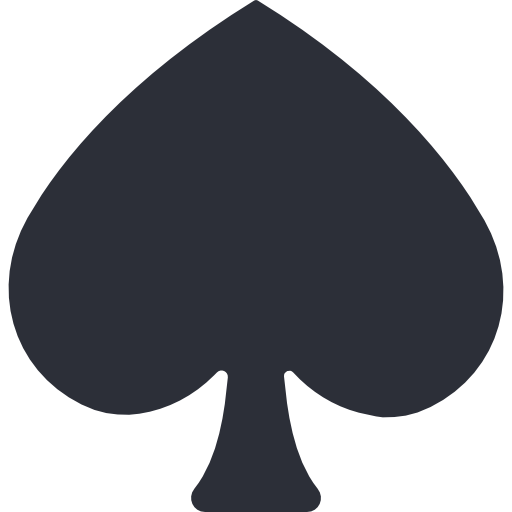Poker spade png. Icon page svg