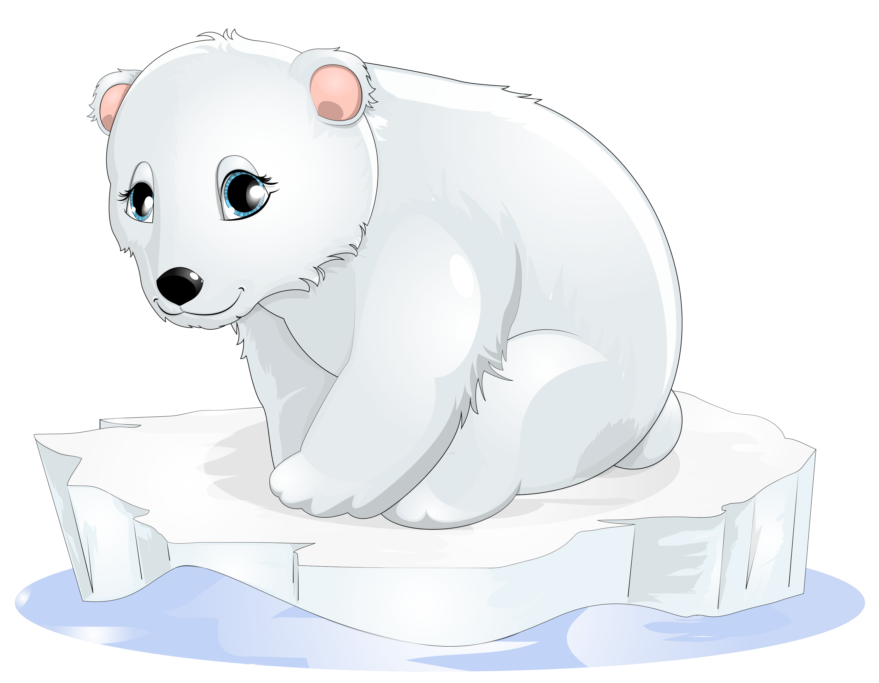 Ice clipart polar bear. Transparent gallery yopriceville high
