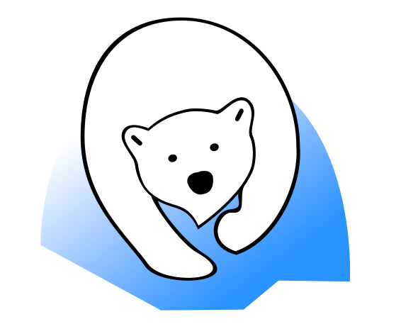 cartoon polar bear png