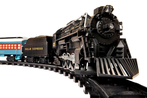 transparent train lionel