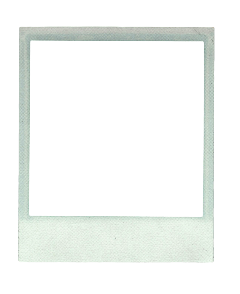 polaroid picture clipart frame