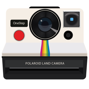 Polaroid clipart camera.