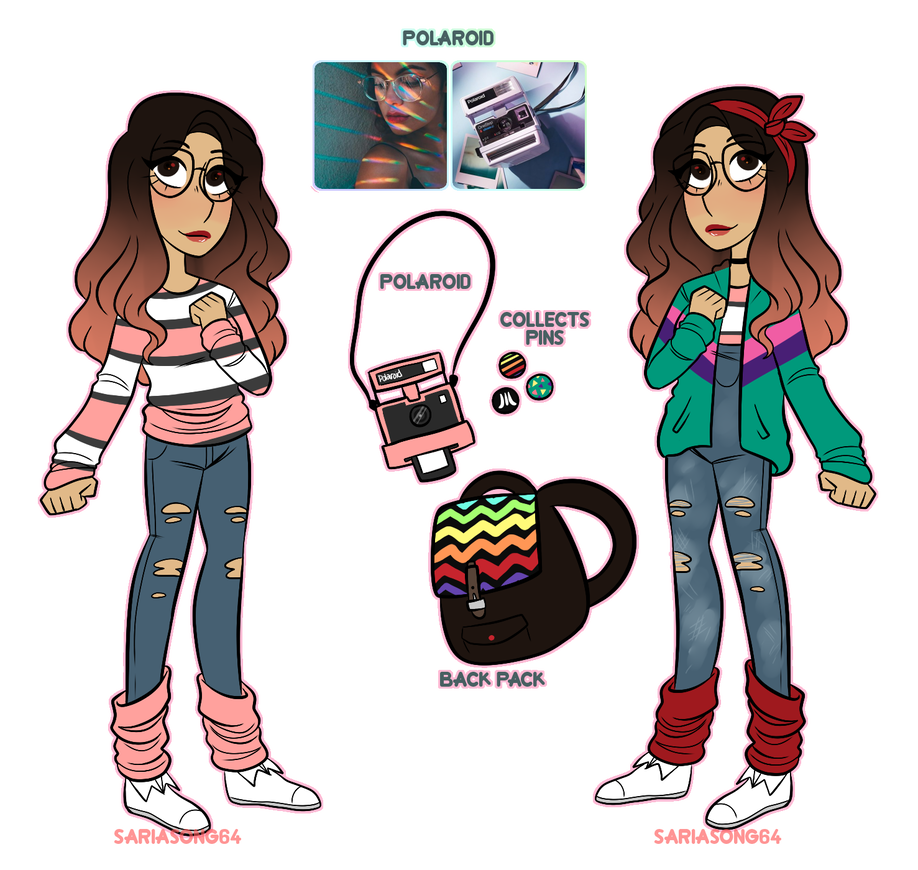 Polaroid clipart aesthetic. Revealed by sariasong on