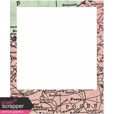 Polaroid clipart black square frame. Toolbox frames map graphic