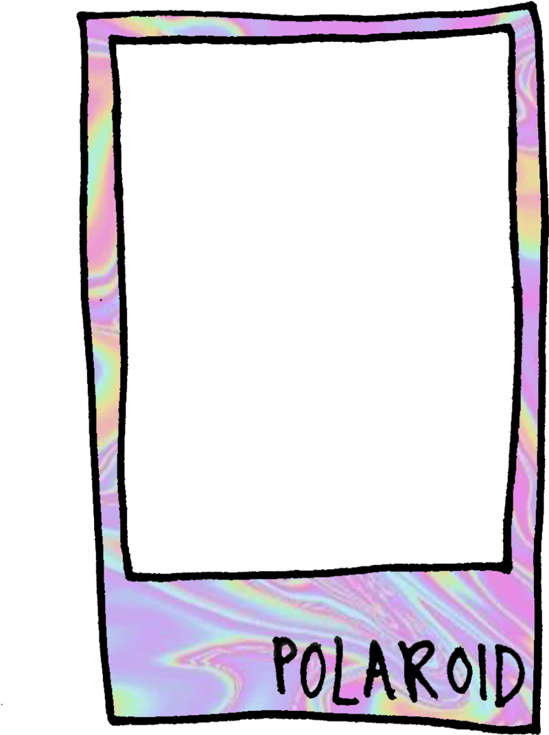 Polaroid clipart frame. Photo framebob org holographic