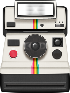 Polaroid clipart instant camera. Totally s bulletin boards