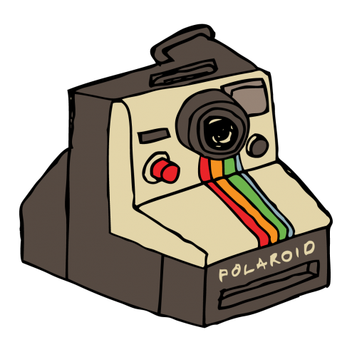 Polaroid clipart instant camera. Temporary tattoo gumtoo tattoos