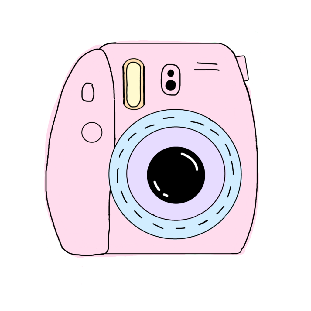 Polaroid clipart pastel. Polaroidcamera scthe s the