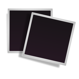 Polaroid clipart pinned. Photo frame transparent png