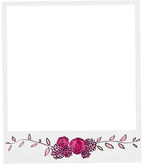 Polaroid clipart transparent background. Aesthetic png image with