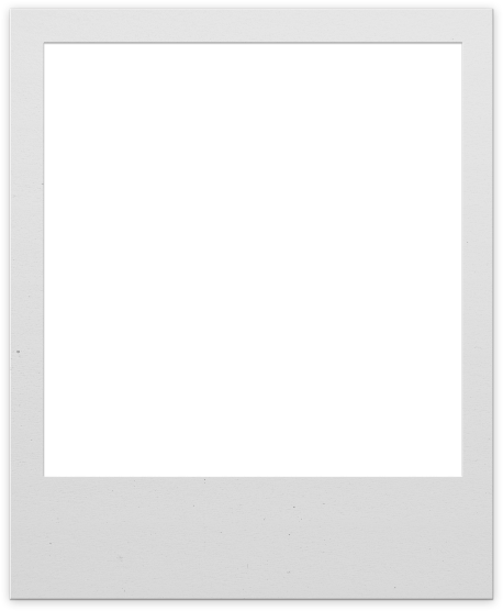 Polaroid template png. Download frame for photoshop