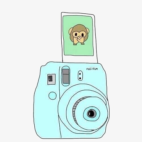 Polaroid picture png cartoon. Camera image and clipart