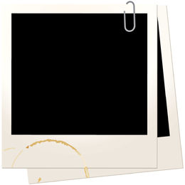 Polaroid picture png wide. Vector graphics to download