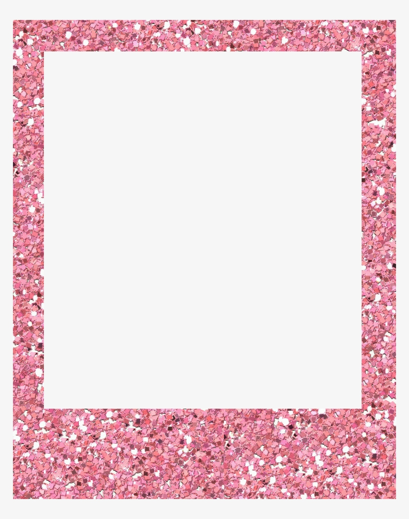 Polaroid picture png pink. Instax frame marco glitter