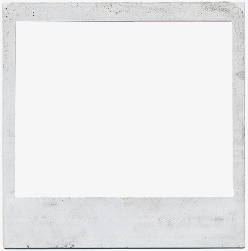 Polaroid picture png frame. Photo clipart image and