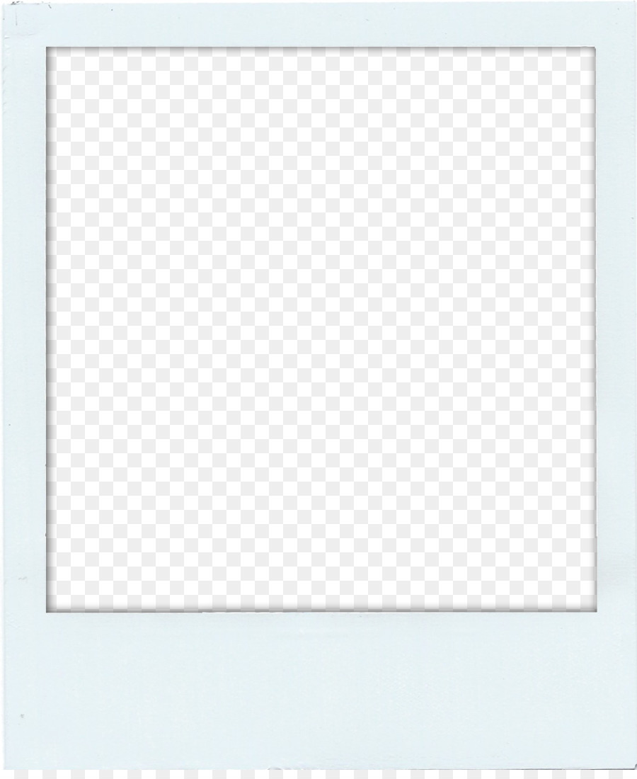 Polaroid picture png frame. Rectangle square area frames