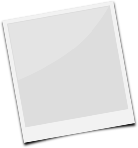 Polaroid picture clipart white. Clip art at clker