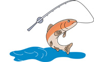 Pole clipart trout fishing. Search results for clip
