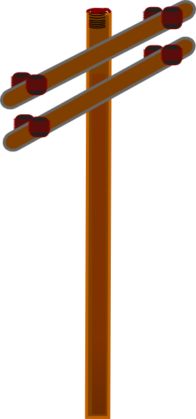 Pole clipart wood pole. Wooden cliparthut free clipground