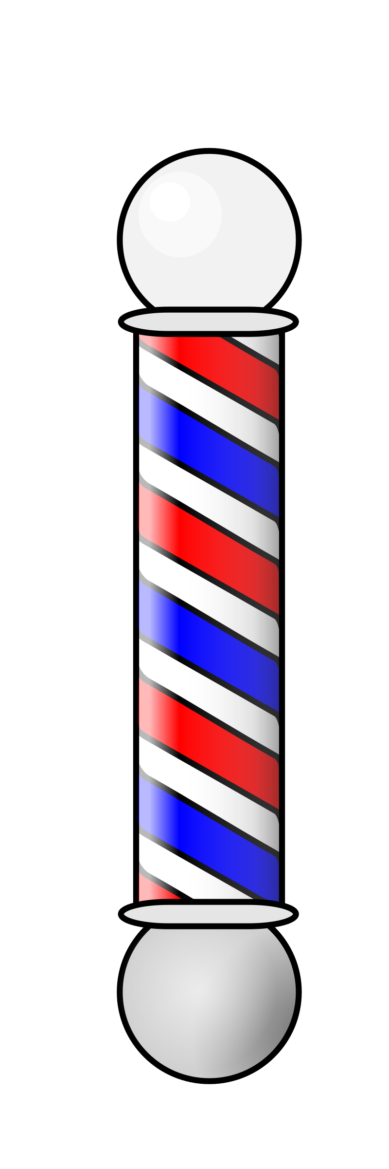 Pole vector animated. Barbershop animation icons png
