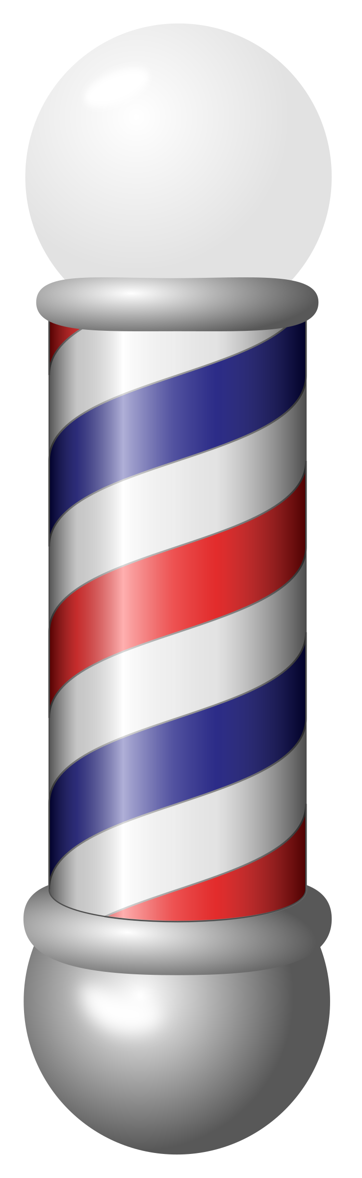 Pole vector black and white. Barber png hd transparent