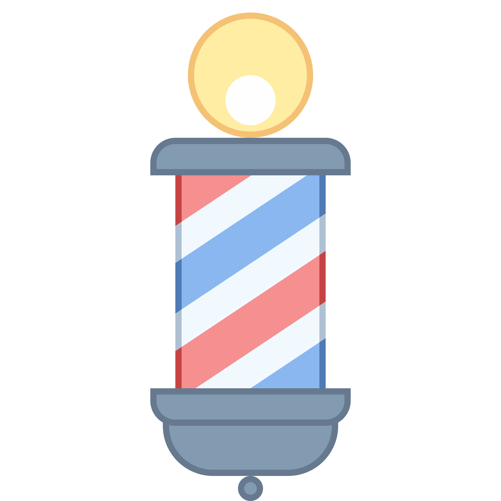 Pole vector cool. Barber icon free download